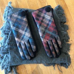 Accessories - Plaid Chic - Gloves